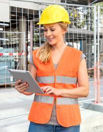 Womens Safety Vest EN ISO 20471